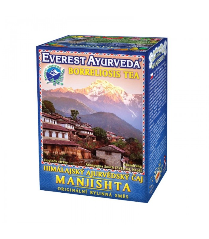 Ajurvédsky čaj MANJISHTA