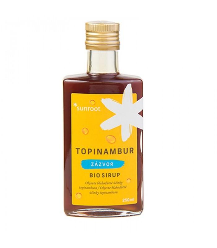 Sirup Topinambur a zázvor