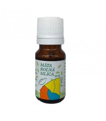 Mäta roľná silica, éterický olej