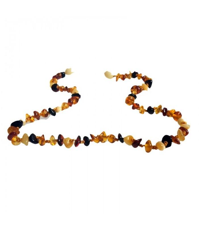 Detský jantárový náhrdelník n0121