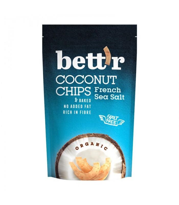 Chipsy kokosové s morskou soľou