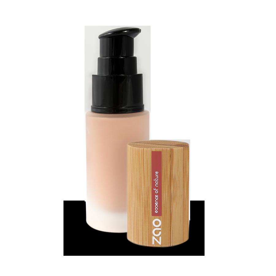 Hodvábny tekutý make-up Zao 714 Natural Beige