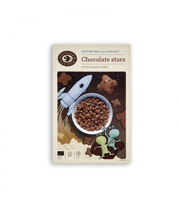 Cereáie čokoládové - hviezdy