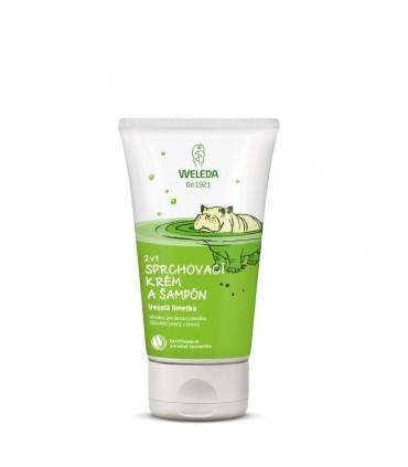 Sprchovací krém a šampón 2v1 - Veselá limetka