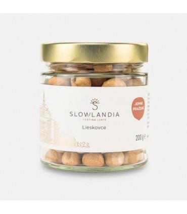 Jemne pražené lieskovce Slowlandia