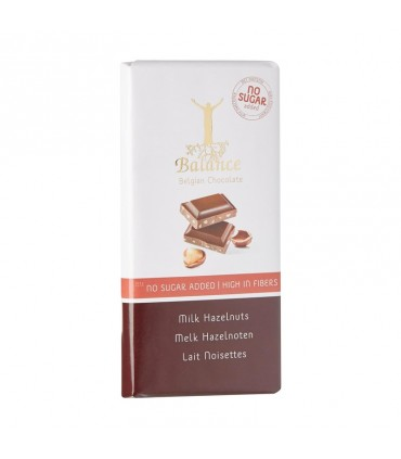 Mliečna čokoláda s orieškami bez cukru