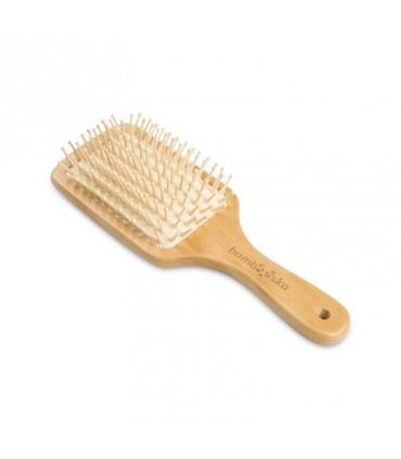 Bambusová kefa na vlasy - veľká