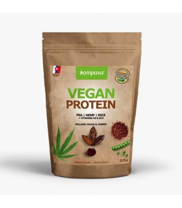 Vegánsky proteín čokoláda-višňa