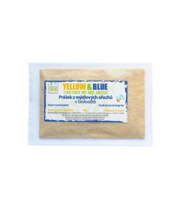 Prášok z mydlových orechov, vzorka