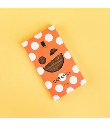 Mliečna čokoláda s karamelom