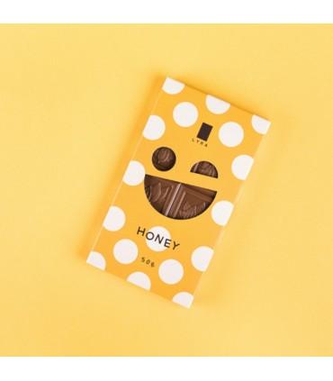 Mliečna čokoláda s medom