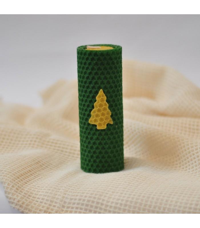 vianoce-sviecky-zelene-z-vcelieho-vosku