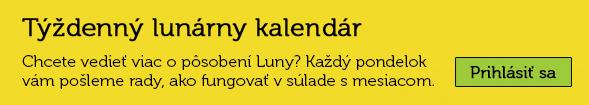 Týždenný lunárny kalendár