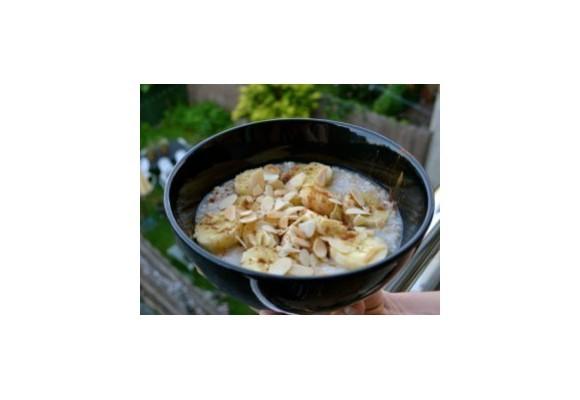 Sladká ovsená kaša na raňajky