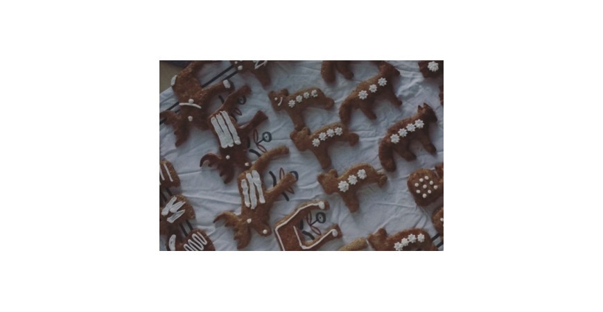 Vegánske vianočné medovníky