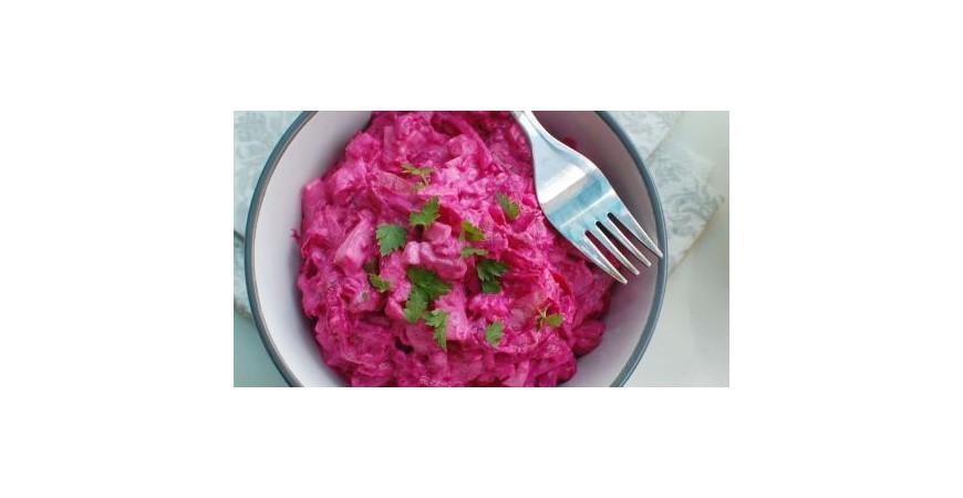 Zdravý veľkonočný zemiakový šalát