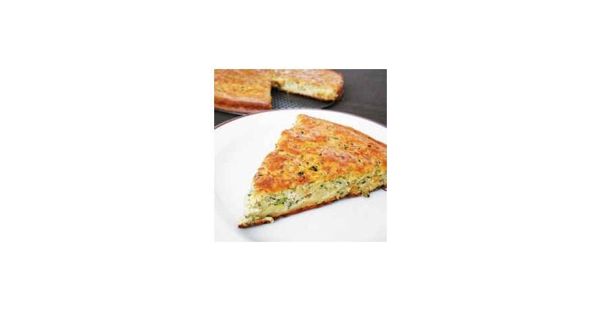 Cuketový koláč slaný (nákyp)