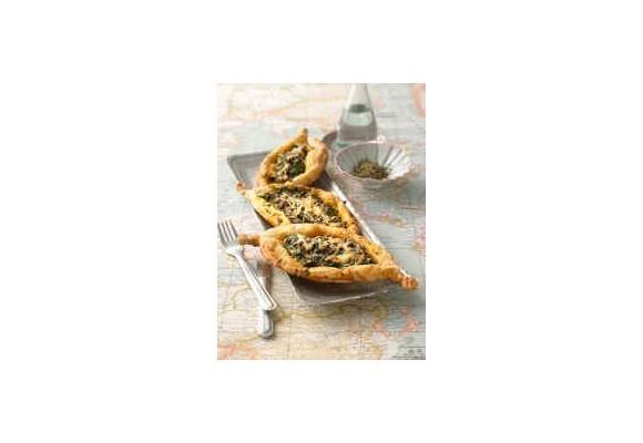 Špenátové vaničky so syrom a smotanou