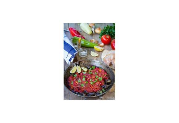 Turecký zapekaný baklažán